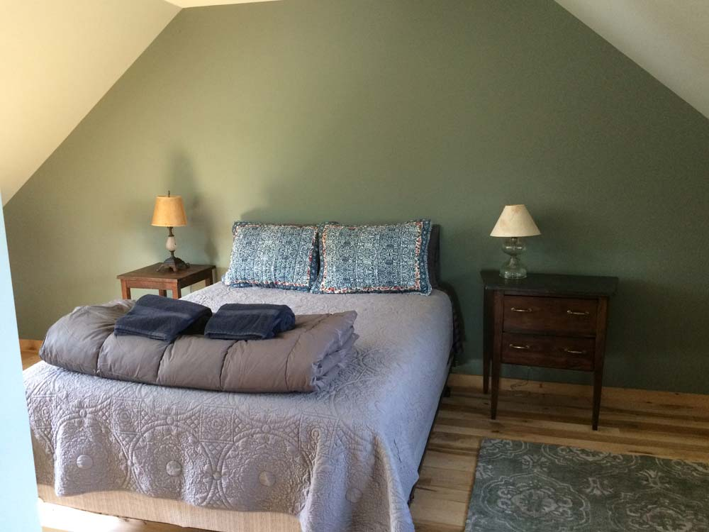 Farmhouse Bedroom with Queen Bed